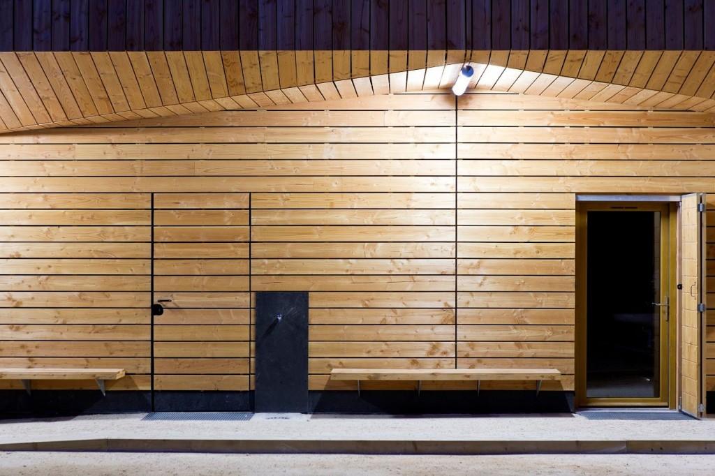 PARC Architectes a livré le club-house du boulodrome Marcel-Cachin pour la ville de Saint-Ouen