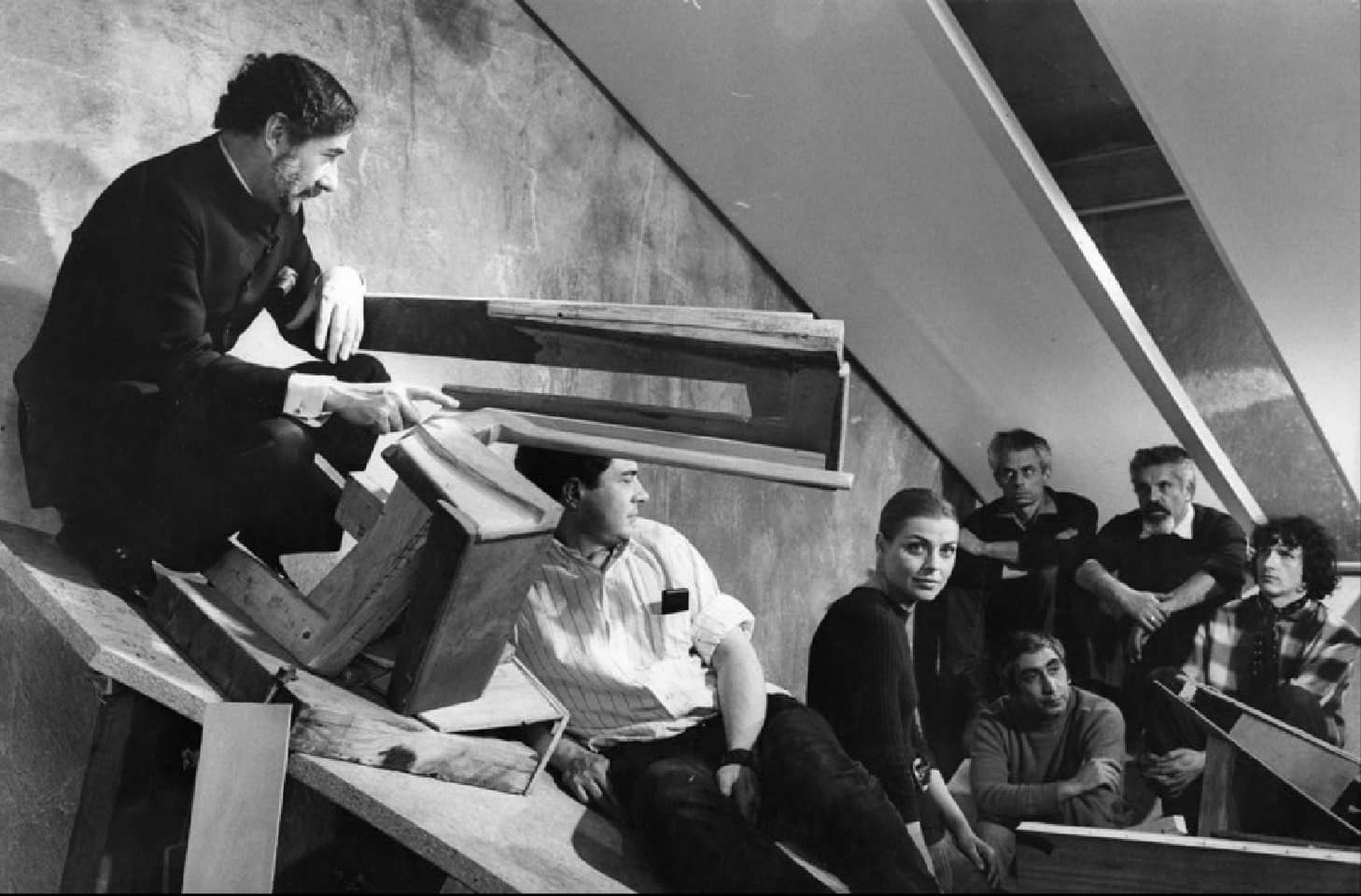 Disparition de claude parent cr ateur de l architecture oblique archicree - Claude parent architecte ...