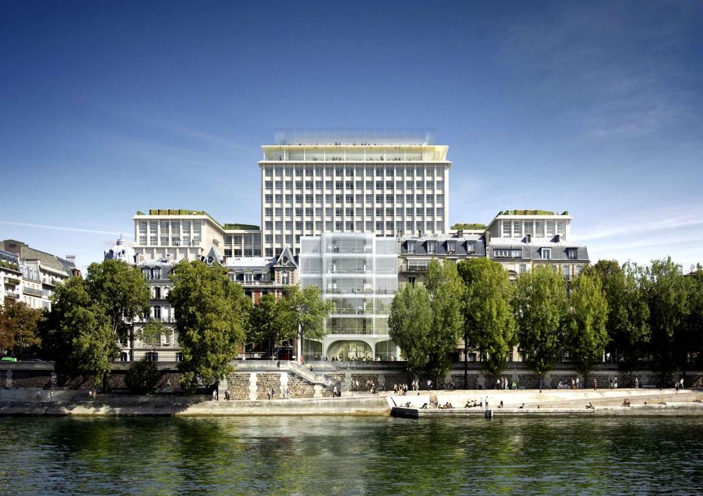 """""""Morland, Mixité capitale"""", projet lauréat du 21 boulevard Morland (Paris 4e). David Chipperfield Architects"""