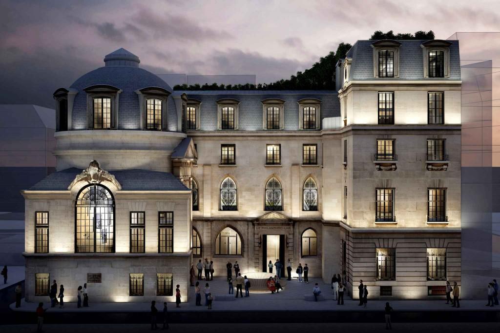 """""""Philanthro-Lab"""", projet lauréat du 15 rue de la Bûcherie (5e). Agence Perrot & Richard"""
