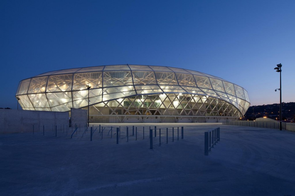 Stade Allianz Riviera © Wilmotte&associés