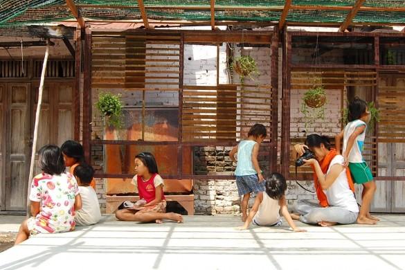Rénovation du bidonville du marché de Minburi, Bangkok, Thaïlande, 2009 @ CASE Studio