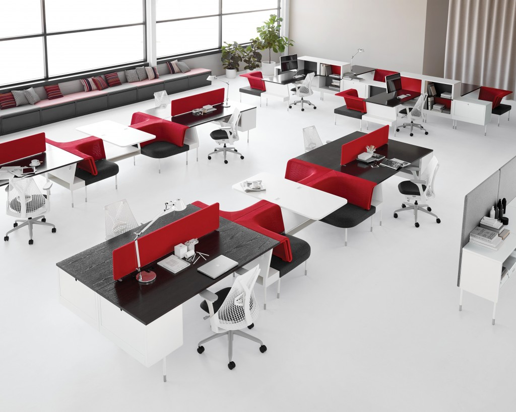 Living Office Public Office Landscape ©Herman Miller 1 1024x819 - Happy-culture au bureau