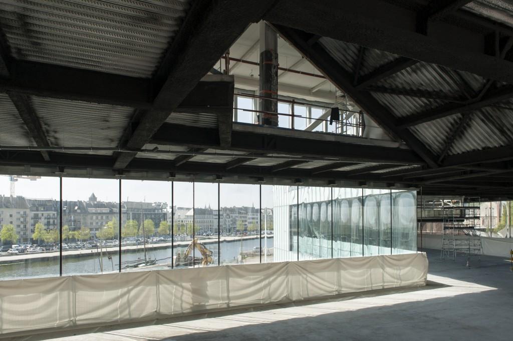 Antoine Cardi BMVR 21 04 2015 détails espace 11 1024x681 - La BMVR de Caen prend forme