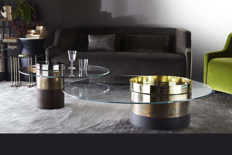 Haumea coffee table b3 compressed compressed - Gallotti & Radice à Milan