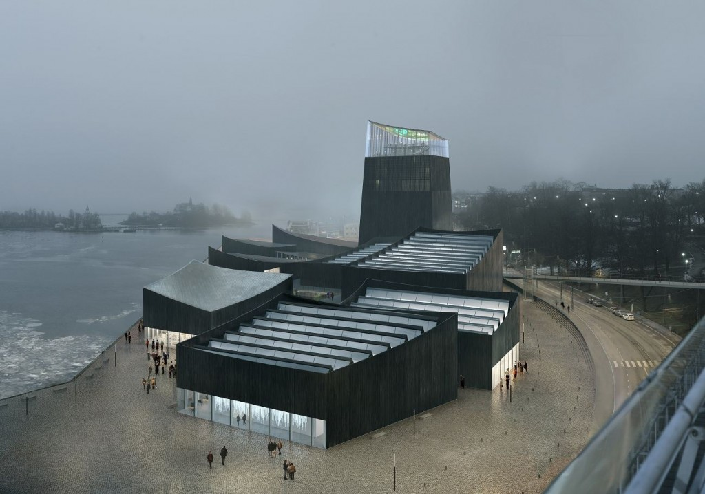Moreau Kusunoki GUG 010  ® Moreau Kusunoki   ArtefactoryLab compressed 1024x718 - Le Guggenheim d'Helsinki a ses architectes