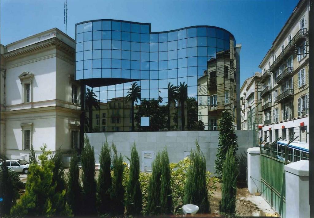 Hôtel du département Ajaccio K1 VEC 1993 compressed 1024x711 - Schüco fête ses 50 ans
