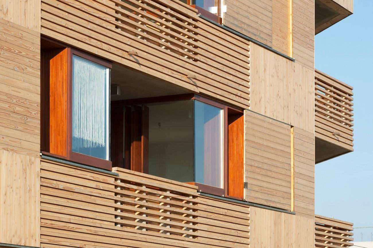 60 LOGEMENTS SOCIAUX à CHANTELOUP EN BRIE - Prix National de la Construction Bois 2015