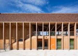 Construction dune maison de santé à Vézelay 89 300x217 - Prix National de la Construction Bois 2015