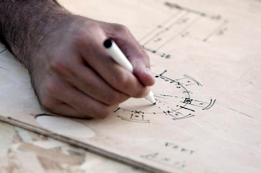 MAZZOCCHIO croquis 1024x682 - Le Mazzocchio matérialisé en bois