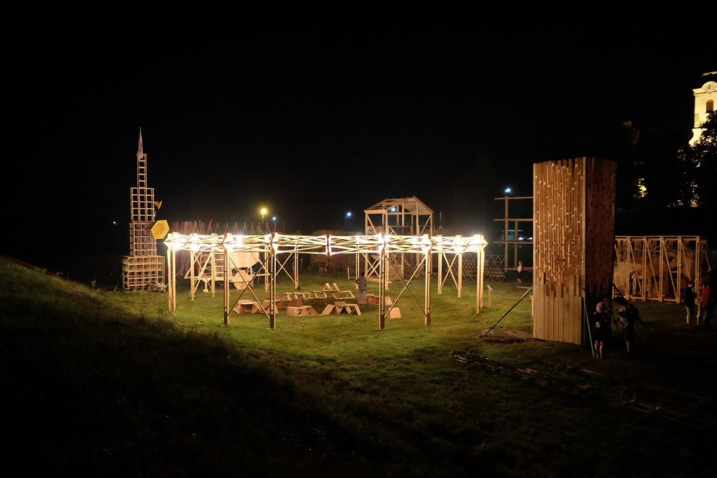 MAZZOCCHIO en situation 1024x682 - Le Mazzocchio matérialisé en bois