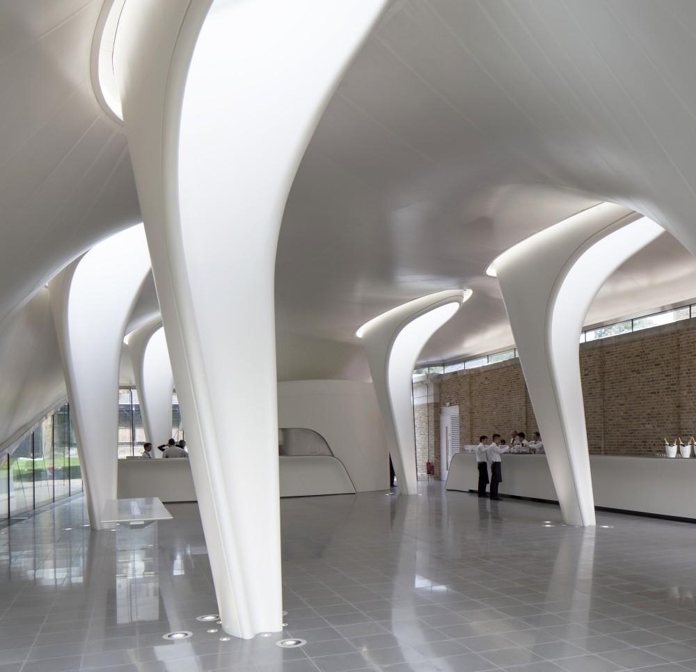 Serpentine Sackler Gallery 3 - Zaha Hadid remet le couvert à la Serpentine
