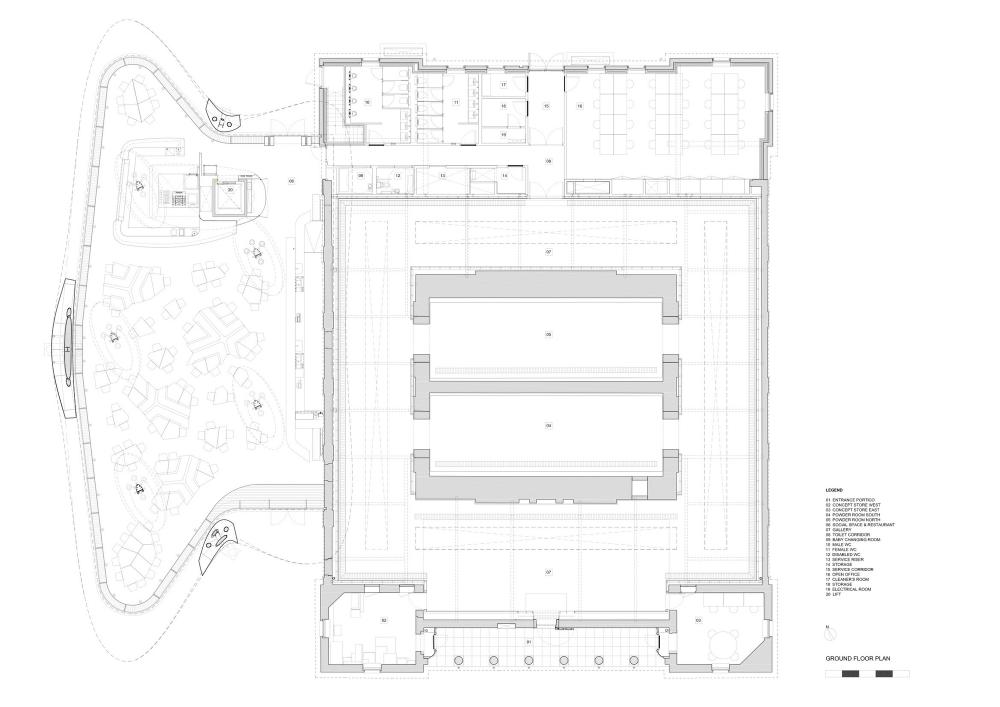 Serpentine Sackler Gallery plan