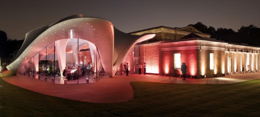 serpentine - Zaha Hadid remet le couvert à la Serpentine