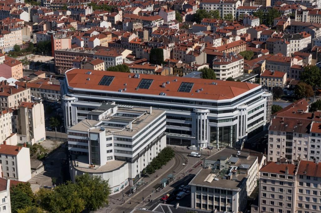 Le New Deal, ancien Garage Citroën, à Lyon. Photo Guillaume Perret