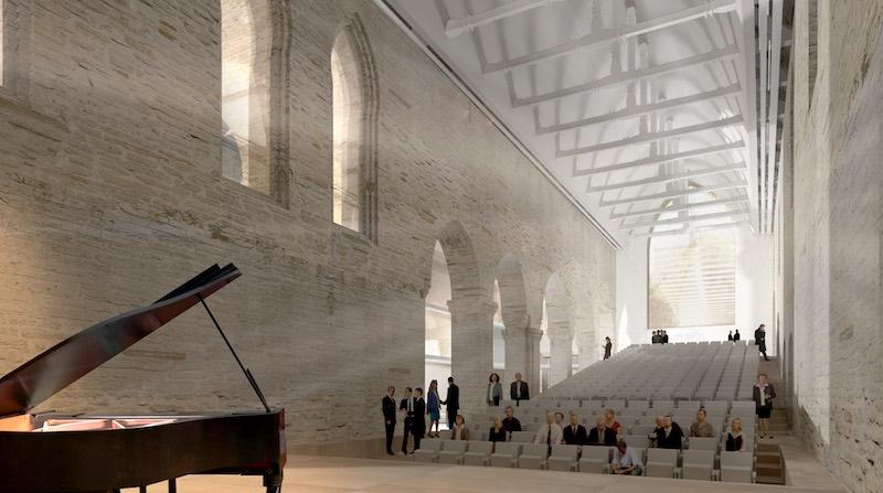 centre des congres rennes 1 - Un couvent transformé en centre des congrès à Rennes