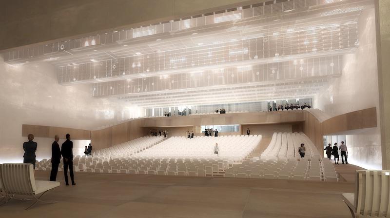 centre des congres rennes 3 - Un couvent transformé en centre des congrès à Rennes