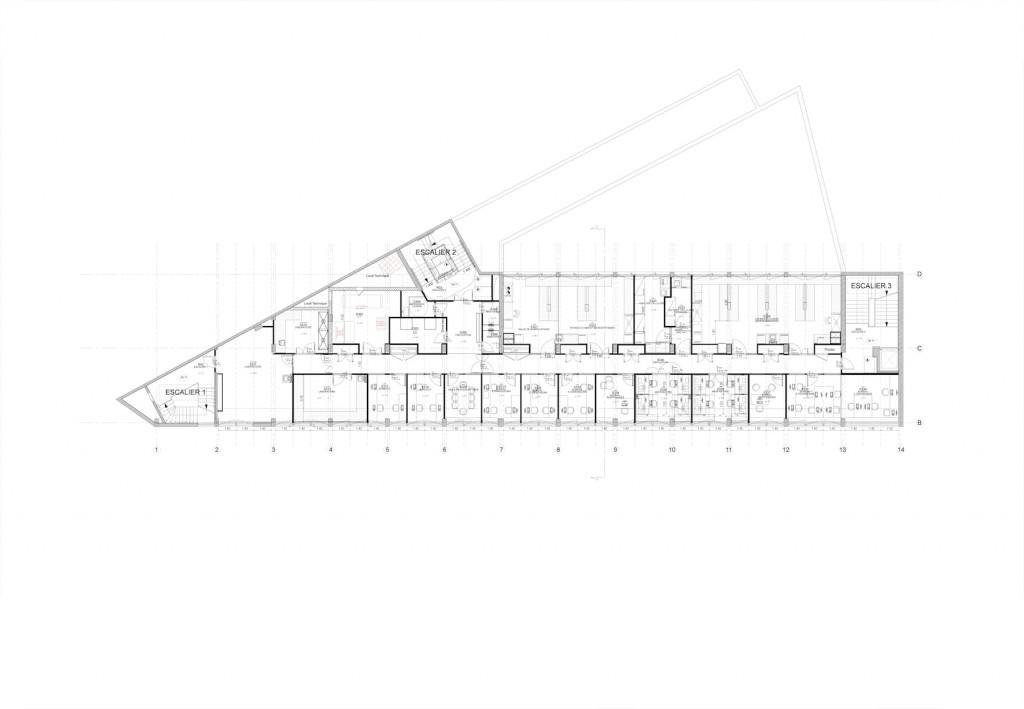 IPGG PLAN R3 PLAN COURANT LABO BUREAU 1024x709 - Inauguration de l'Institut Pierre-Gilles de Gennes