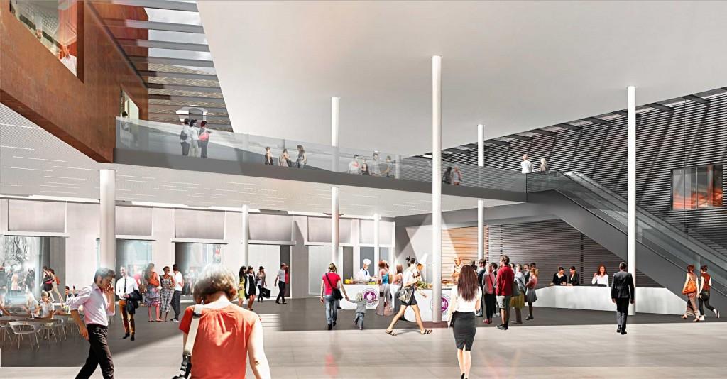 atrium 1024x534 - Dijon : la future Cité internationale de la Gastronomie et du Vin