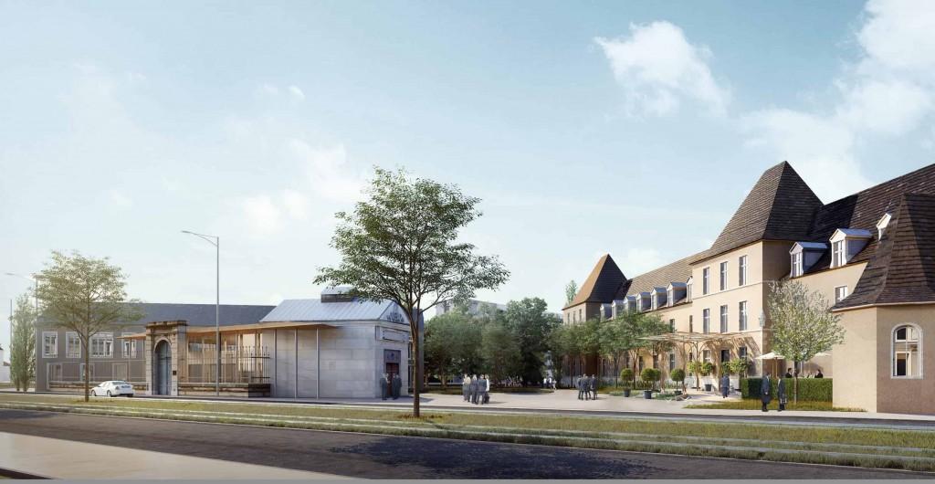 cite gastronomie parvis hotel 1024x530 - Dijon : la future Cité internationale de la Gastronomie et du Vin