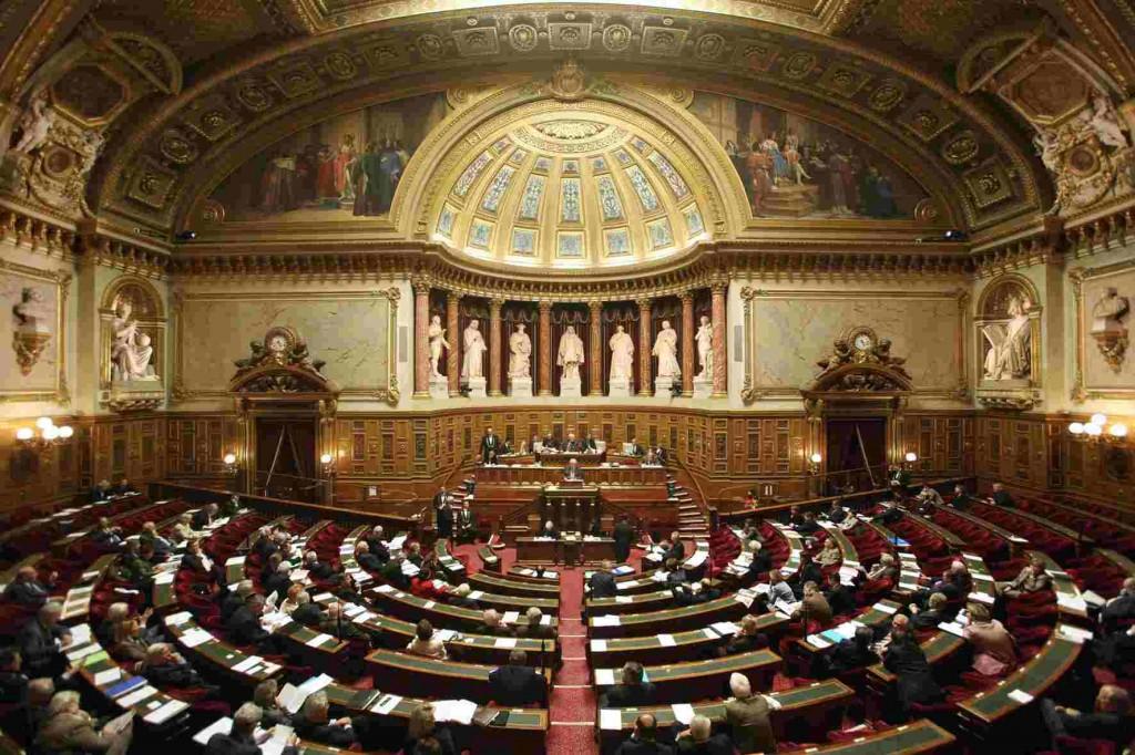 hemicycle senat 1 1024x682 - Adoption du projet de loi sur la création, l'architecture et le patrimoine par le Sénat
