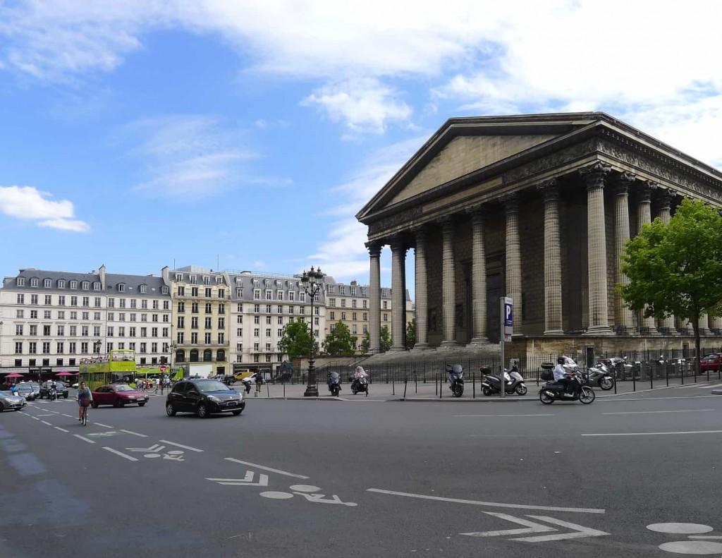 place de la Madeleine 1024x791 - Sept places seront réaménagées à Paris d'ici 2020