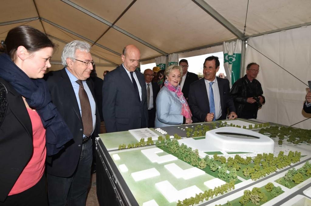 Bordeaux Metropole 2 1024x681 - Chantier du Bordeaux Métropole Arena, signé Rudy Ricciotti