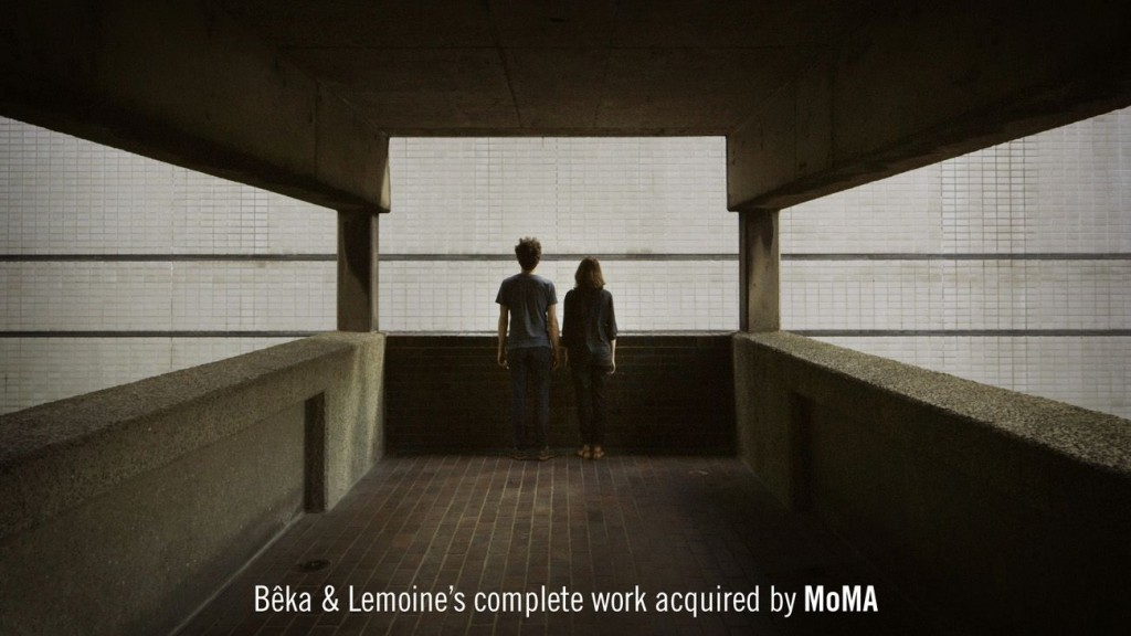 Beka Lemoines complete work acquired by MoMA compressed 1024x576 - Bêka & Lemoine entrent au MoMa