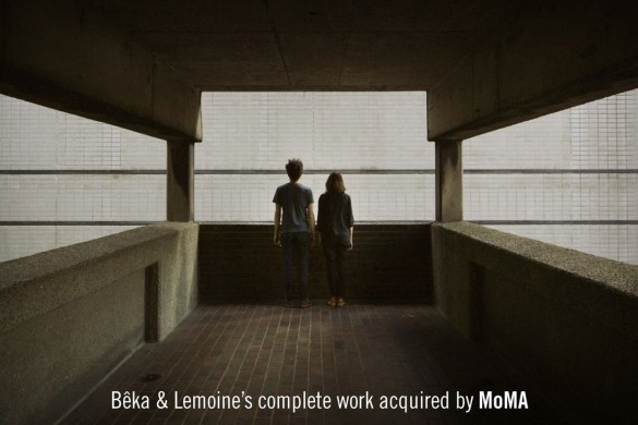 Beka Lemoines complete work acquired by MoMA compressed 585x390 - Bêka & Lemoine entrent au MoMa