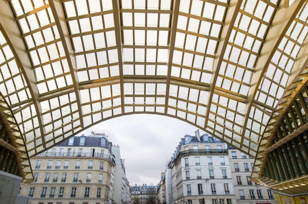 Canopée Entrée Lescot compressed 1024x681 - Inauguration de la Canopée et du Forum des Halles
