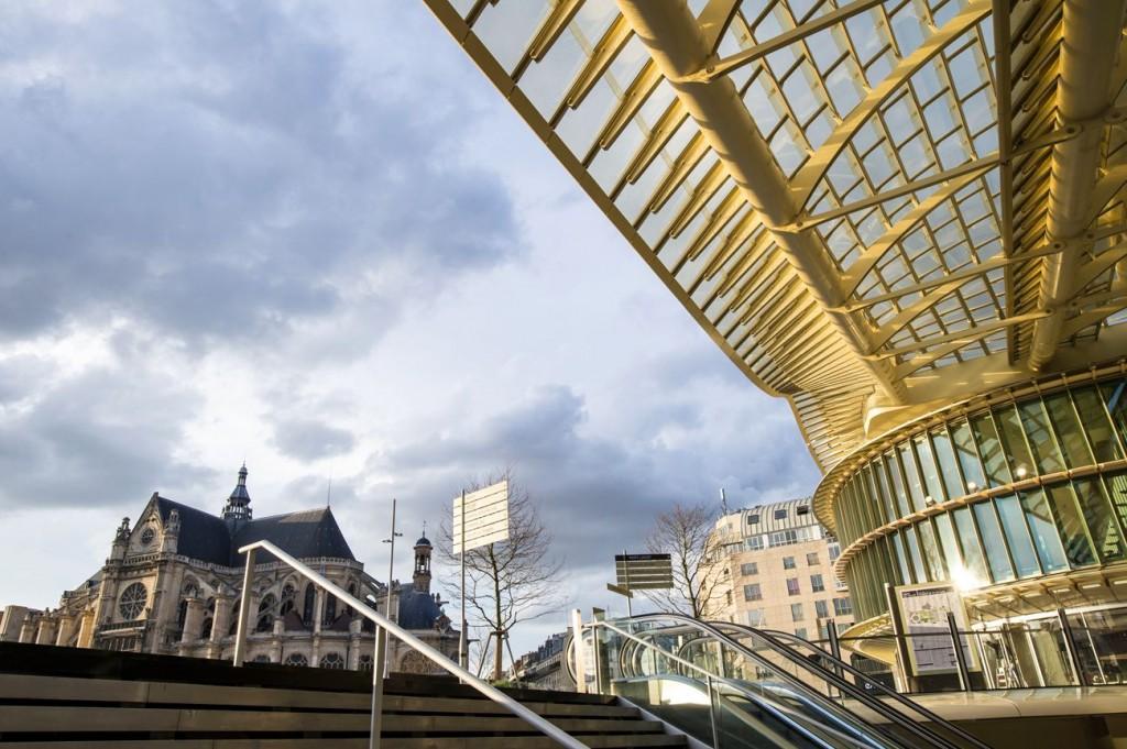 Canopée niveau 0 compressed 1024x681 - Inauguration de la Canopée et du Forum des Halles