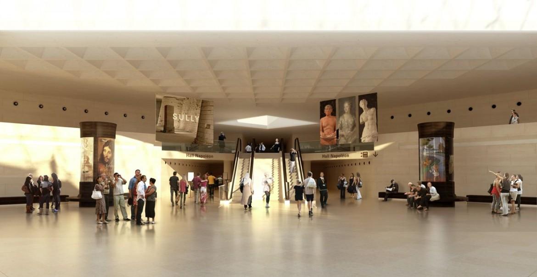 Hall Napoléon libéré de sa banque dinformation signalétique projet c Agence Search compressed 1170x604 - Chantier Pyramide : 12 pour 1