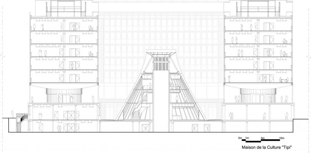 PAJUS5 coupe tipi∏Architecture Studio compressed 1024x504 - 2/2 : Parachèvement de la rénovation du campus de Jussieu