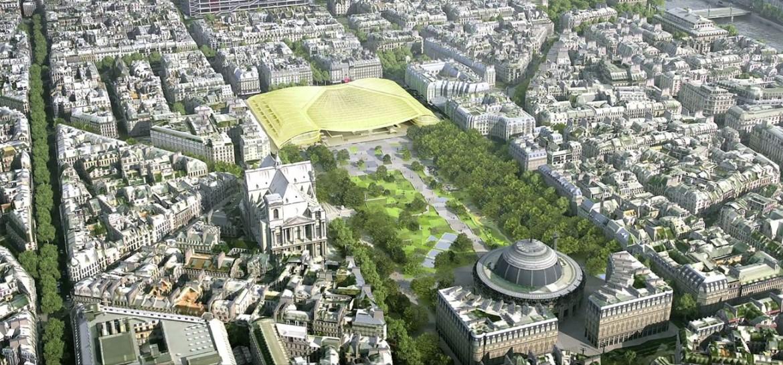 Projet Halles compressed 1170x546 - Inauguration de la Canopée et du Forum des Halles