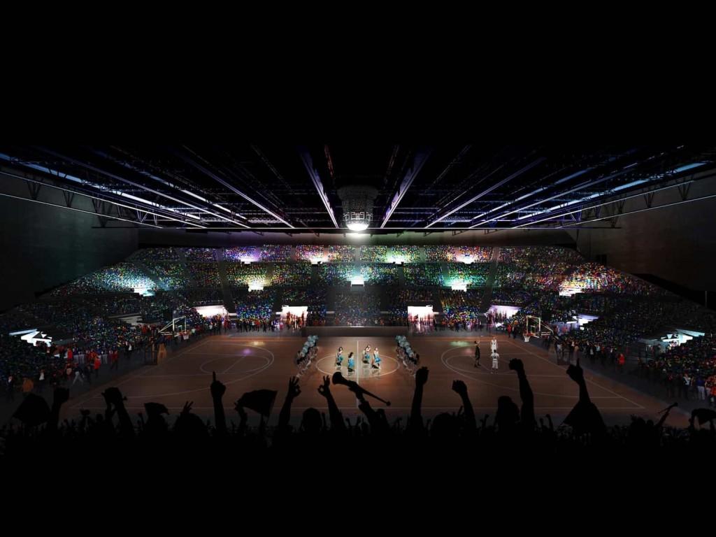 SALLE SPORT©Lagardere Unlimited Agence Rudy Ricciotti 1024x768 - Chantier du Bordeaux Métropole Arena, signé Rudy Ricciotti