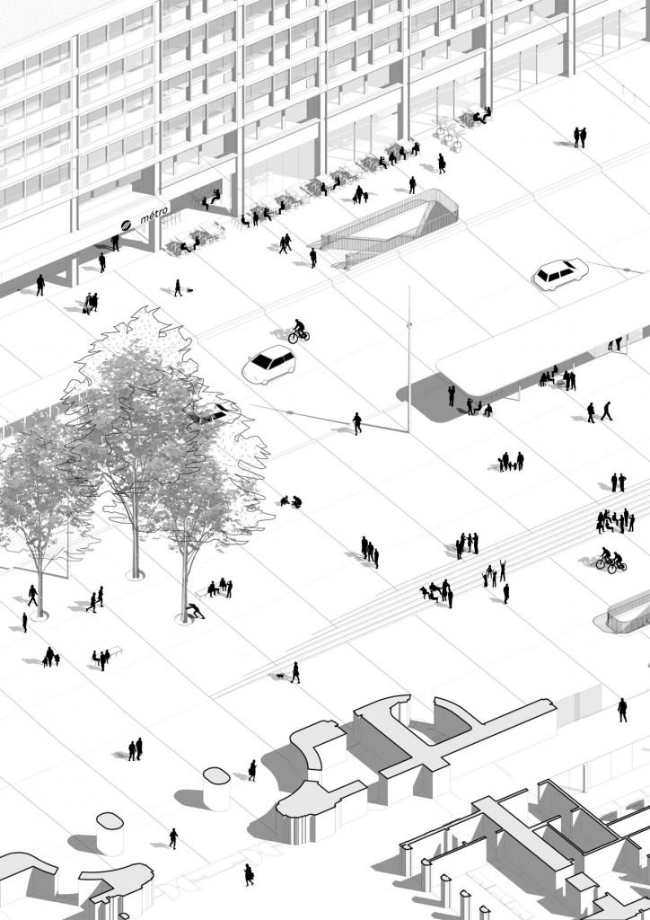 TVK LAUSANNE axotranche ∏TVK compressed 724x1024 - TVK remporte le réaménagement de la Place de la Gare