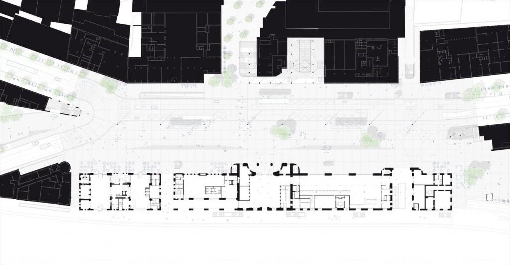 TVK LAUSANNE plan250∏TVK compressed 1024x532 - TVK remporte le réaménagement de la Place de la Gare