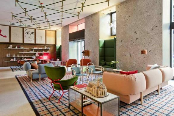 giulia 5 585x390 - Un hôtel signé Patricia Urquiola à Milan