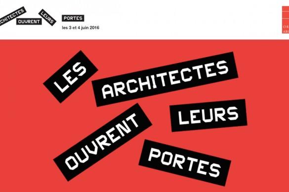 les architectes ouvrent leurs portes 1 585x390 - Les architectes ouvrent leurs portes