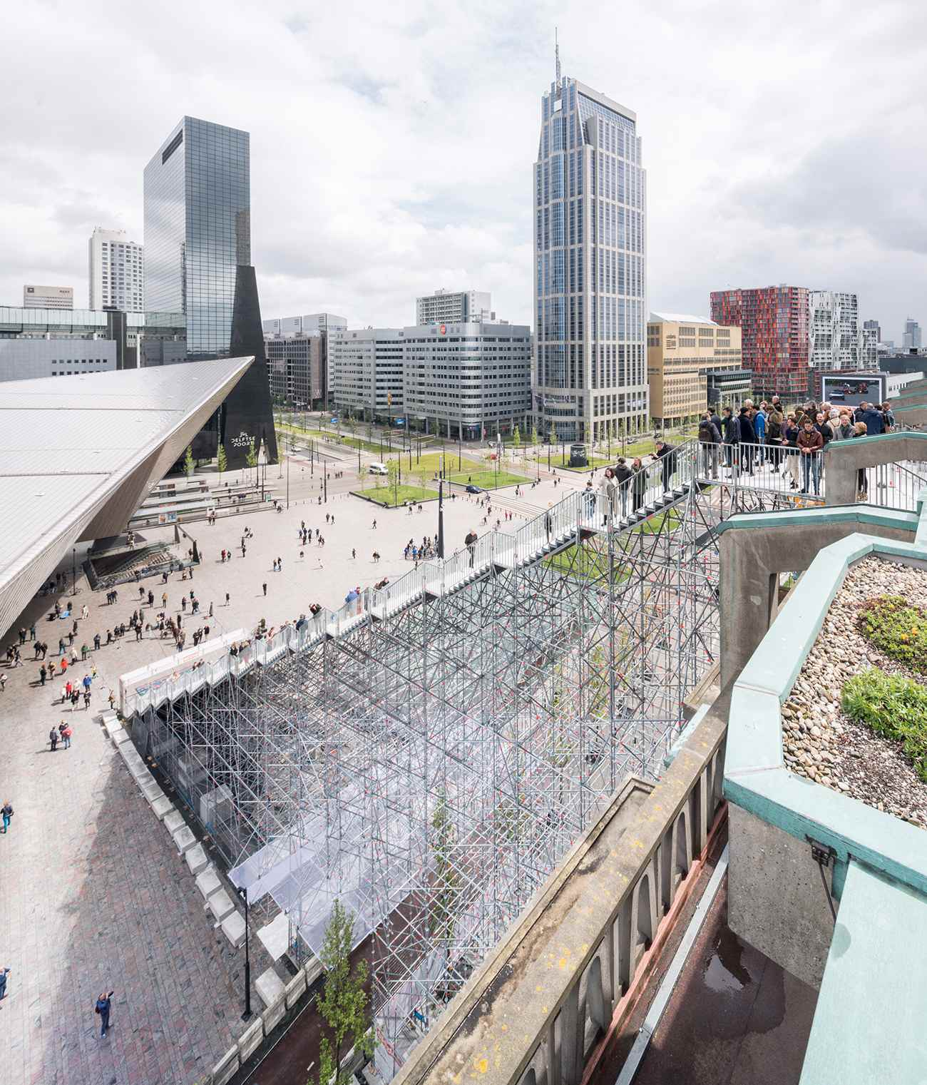 08 De Trap ∏Ossip compressed - Rotterdam : MVRDV cultive l'esprit d'escalier