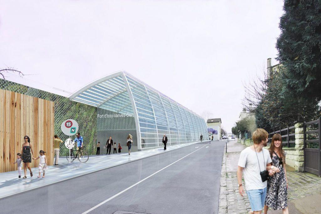 KM1_GrandParisExpress_gare_Fort d'Issy-Vanves-Clamart_Philippe Gazeau