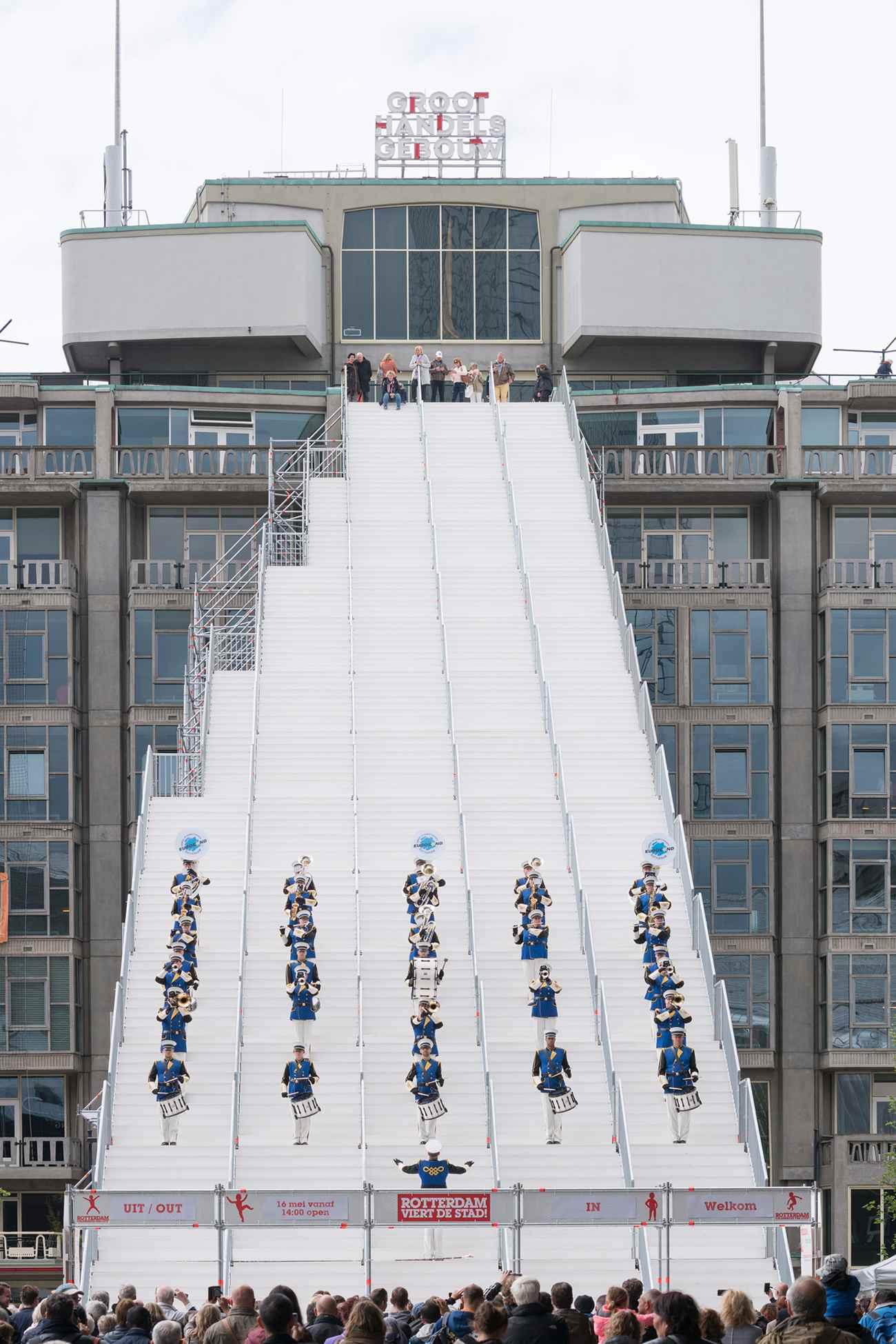 13 De Trap ∏Ossip compressed - Rotterdam : MVRDV cultive l'esprit d'escalier