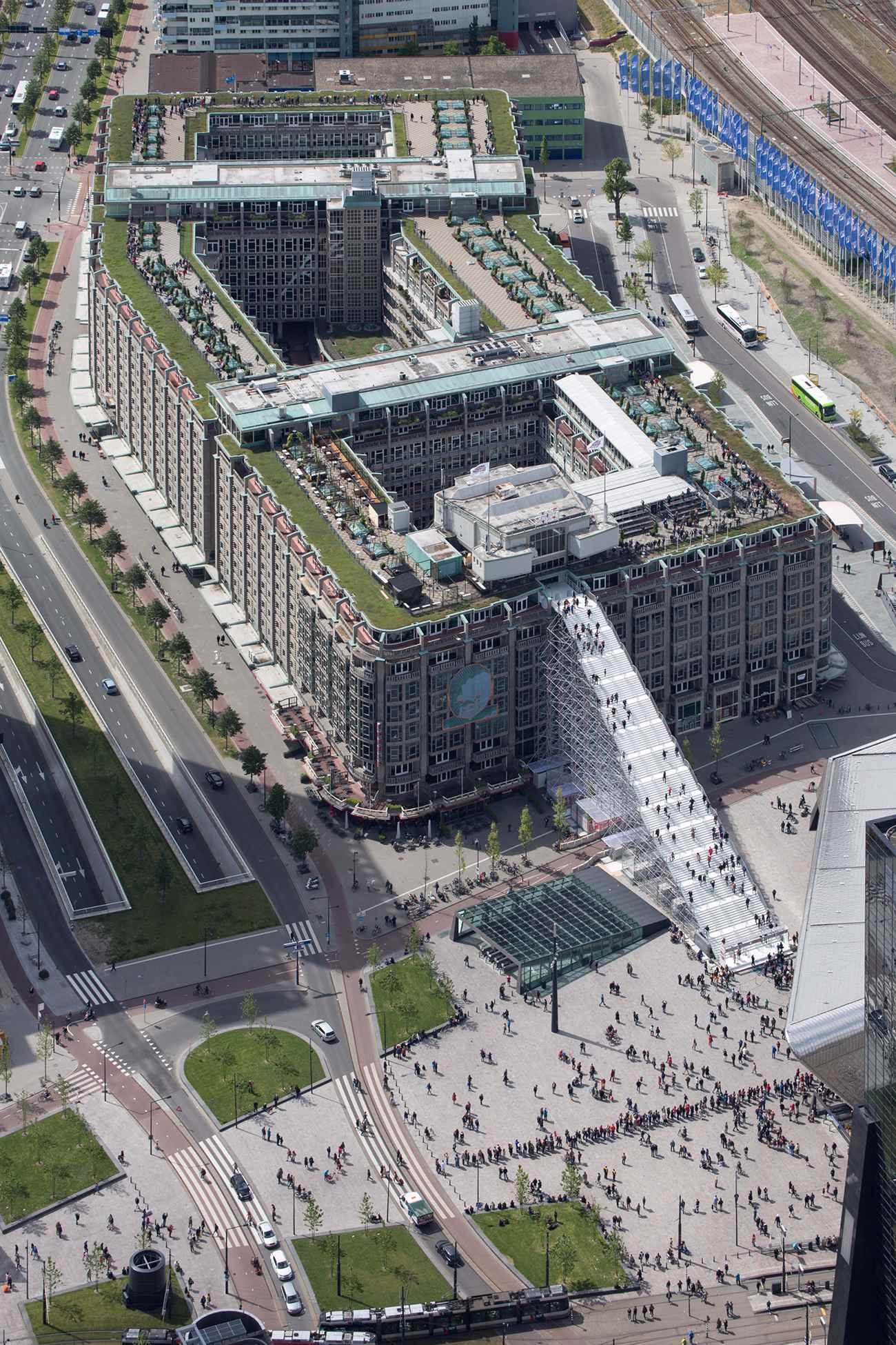 19 De Trap ∏Ossip compressed - Rotterdam : MVRDV cultive l'esprit d'escalier