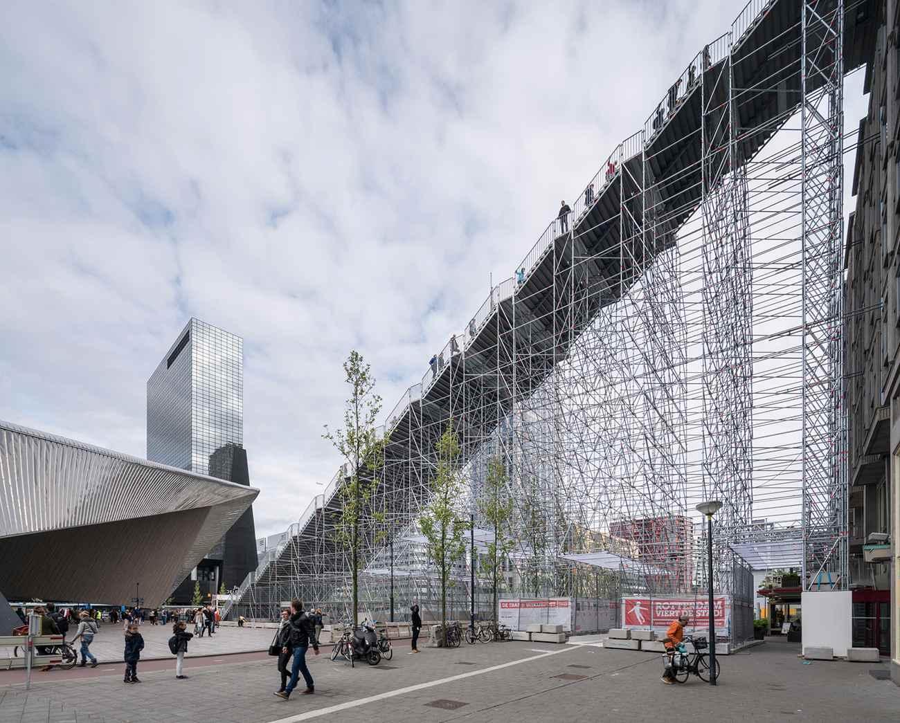 31 De Trap ∏Ossip compressed - Rotterdam : MVRDV cultive l'esprit d'escalier