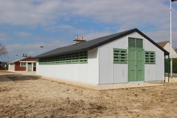 Baraquement Camps GI Espace de partage pascalcolé Ville de Gonfreville lOrcher 585x390 - Deux baraquements après-guerre muséifiés
