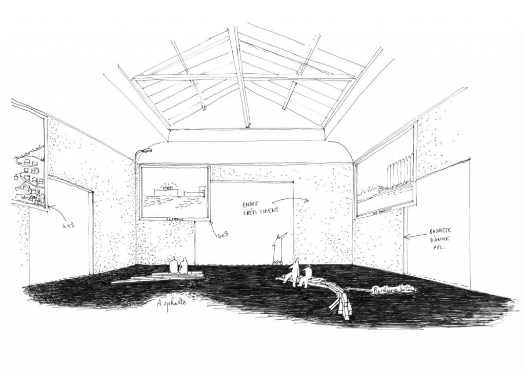Salle centrale du Pavillon français © Obras Frédéric Bonnet Ajap14 compressed 1024x724 - Nouvelles du front, nouvelles richesses
