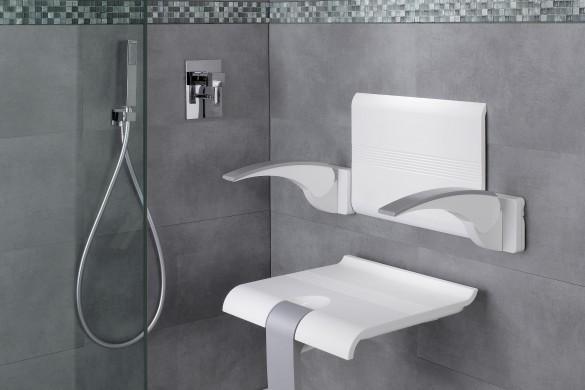 siège de douche arsis 585x390 - Arsis Evolution : pour une douche confortable et sûre