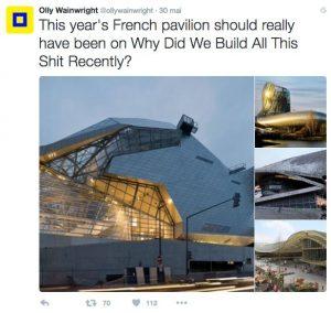 Olly Wainwright twitter compressed 300x284 - Décantation de la Cité du Vin : la revue de presse du 7 juin 2016