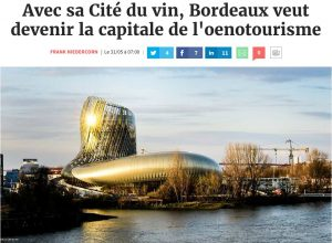 lesechos compressed 300x220 - Décantation de la Cité du Vin : la revue de presse du 7 juin 2016