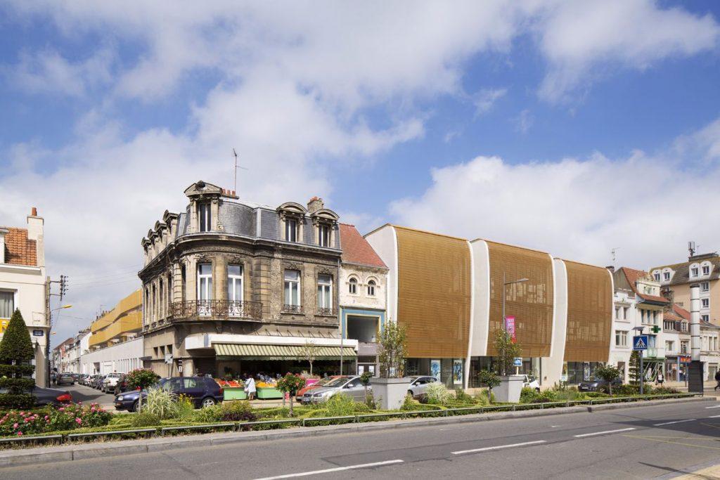 06 vue sur rue ARCAME CALAIS ECOLEd ART compressed 1024x683 - Calais : l'école d'art au secours du centre-ville